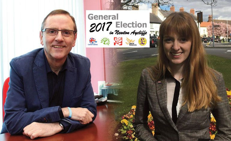 Election hopefuls clash over campaign leaflets