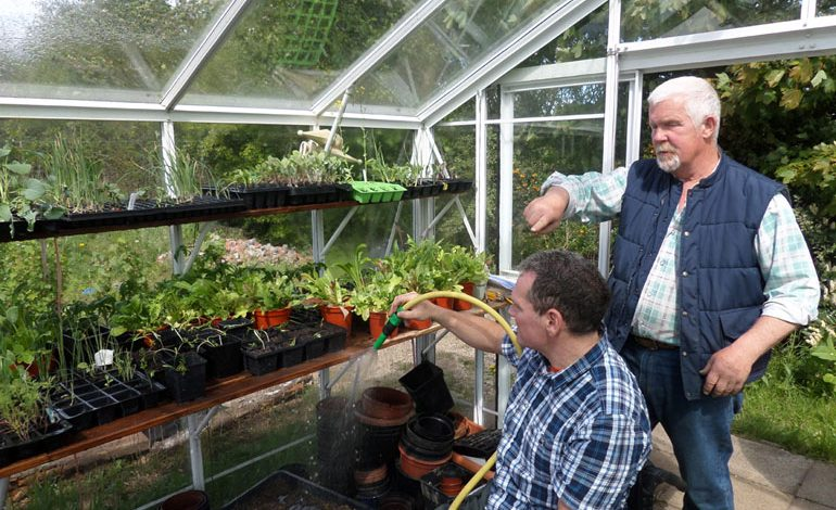 'Super shed' appeal for wheelchair gardeners