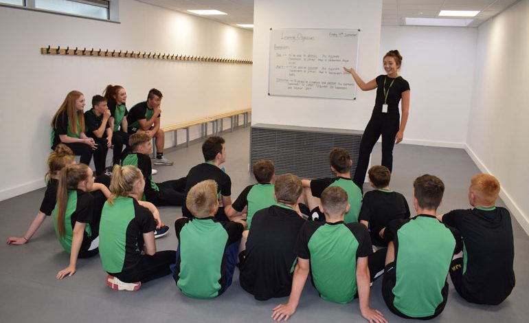 School unveils new £112k sports changing rooms