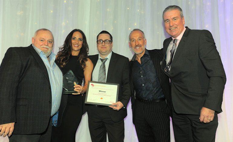 Council staff celebrate after winning national award