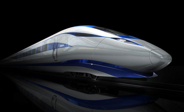 Hitachi and Bombardier open new HS2 development centre