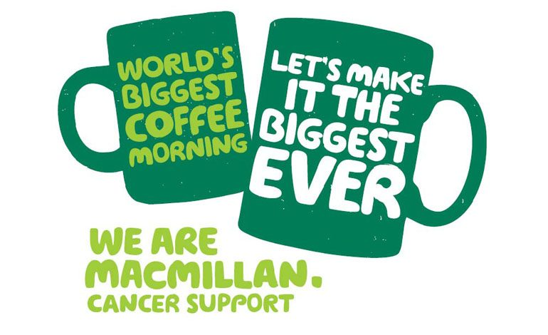 PCP prepares for Macmillan's 'World's biggest Coffee Morning'