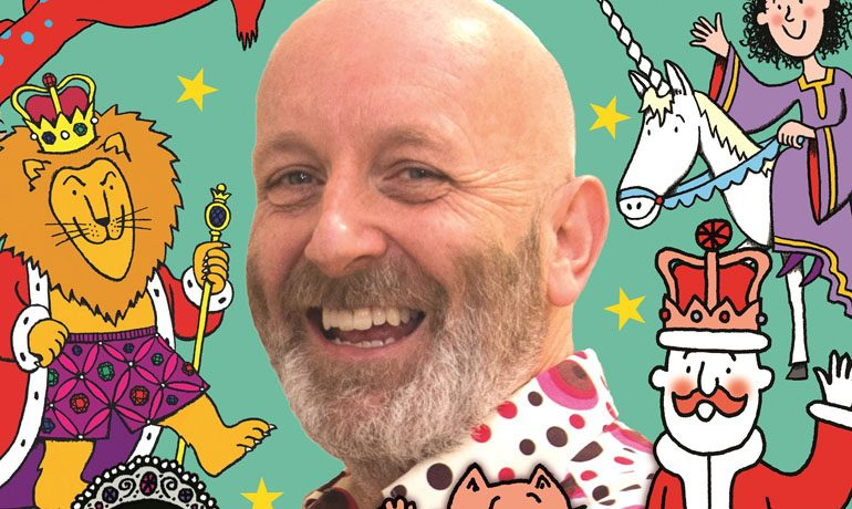 Creative kids could win a place on celebrity illustrator's workshop