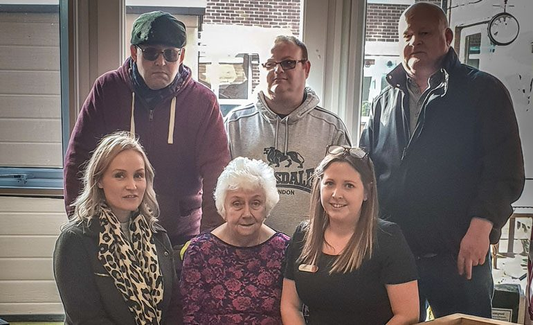 Aycliffe care home receives kind donation from local woodcraft firm