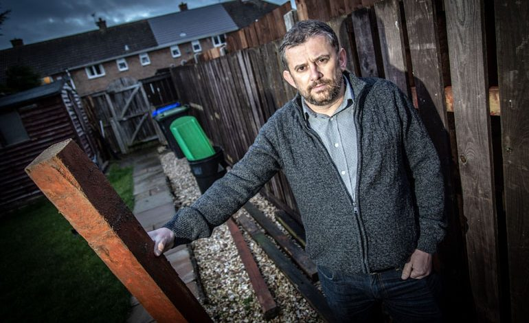 Councillor wrecks neighbours' property by erecting 'illegal' fence