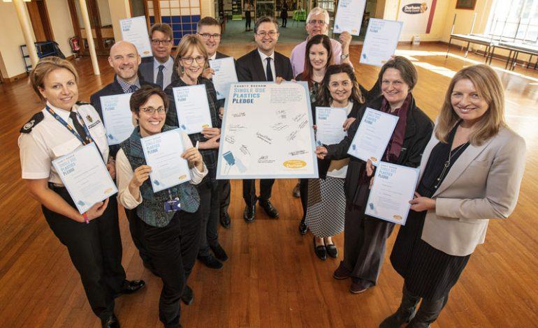 Partners pledge to tackle single use plastics