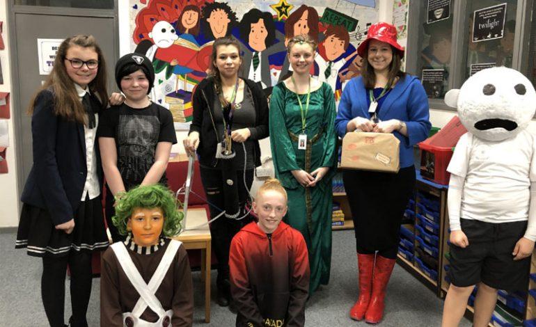 Woodham Academy celebrate World Book Day