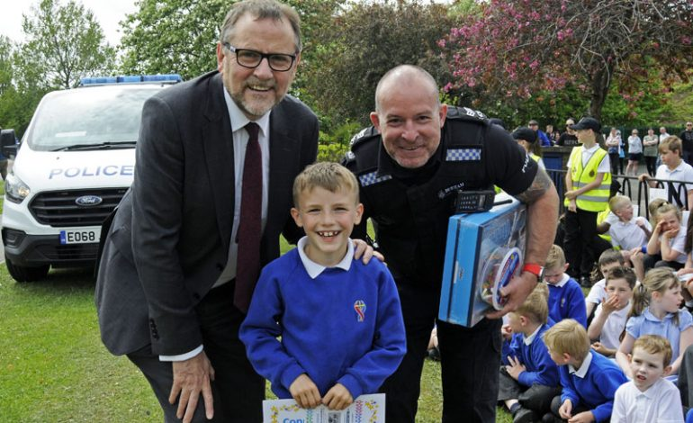 Young people enjoy road safety initiative in Aycliffe