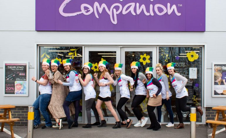 Crafter's Companion's rookie runners raise money for children's charity