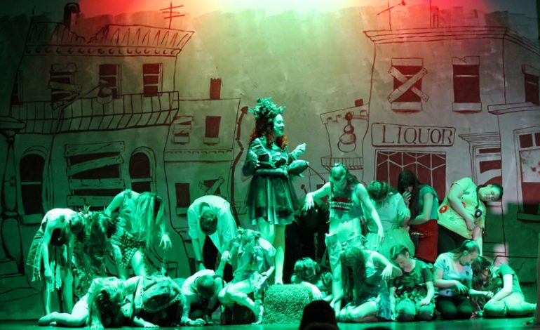 Pictures: Stunning performance of 'Little Shop of Horrors' at Greenfield