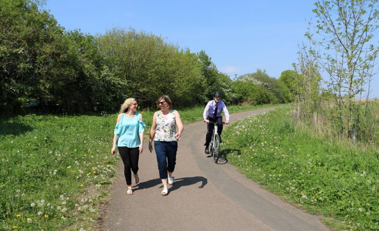 Cyclists and walkers encouraged to enjoy shared spaces