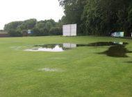 Cricket rained off