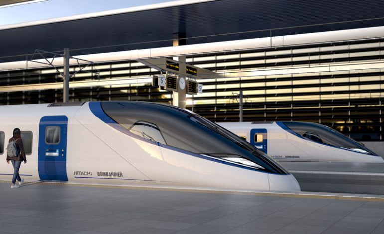 First image released of proposed Hitachi/ Bombardier HS2 design