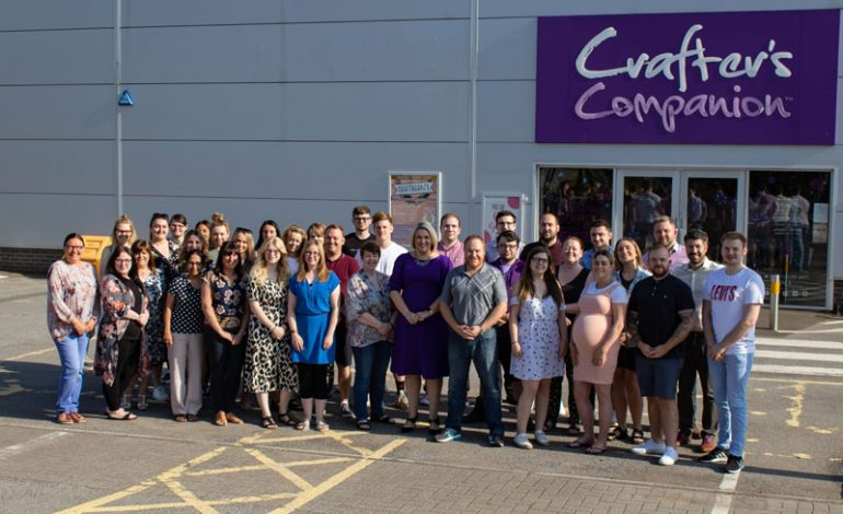 Crafter's Companion hits 200 staff mark