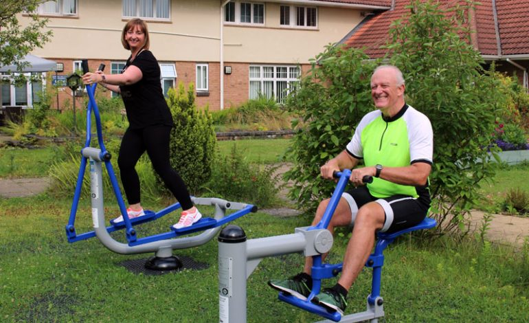 Sport England cash funds £10k outdoor gym in Aycliffe