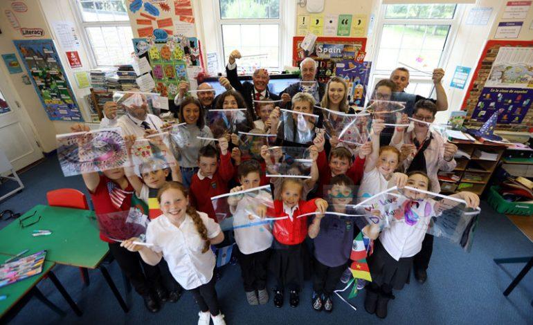 Children to create symbol of international friendship