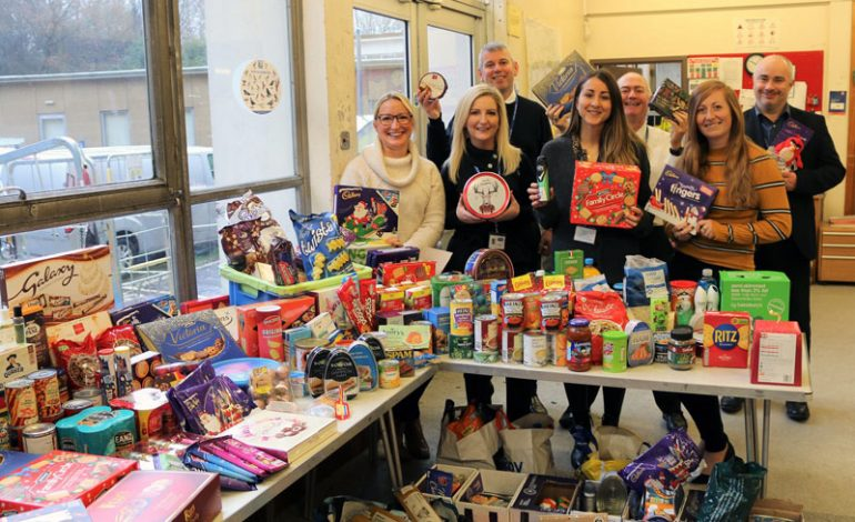 County Durham foodbanks receive Christmas gifts from the council