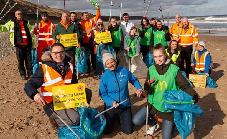 Let's get litterfree, from land to sea
