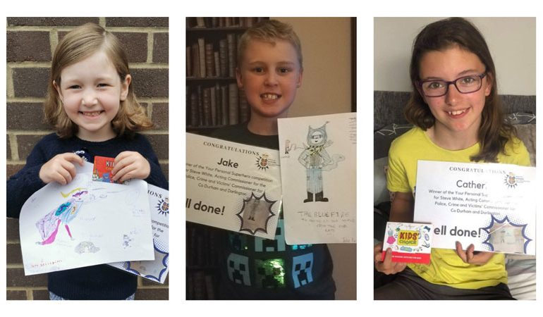 Splendid 'designer' superhero's unveiled as competition winners announced