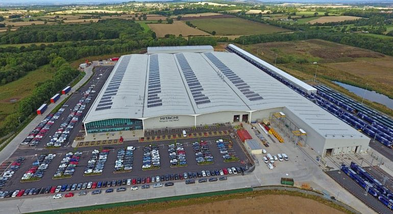 Hitachi Rail celebrates five years of train building in Newton Aycliffe