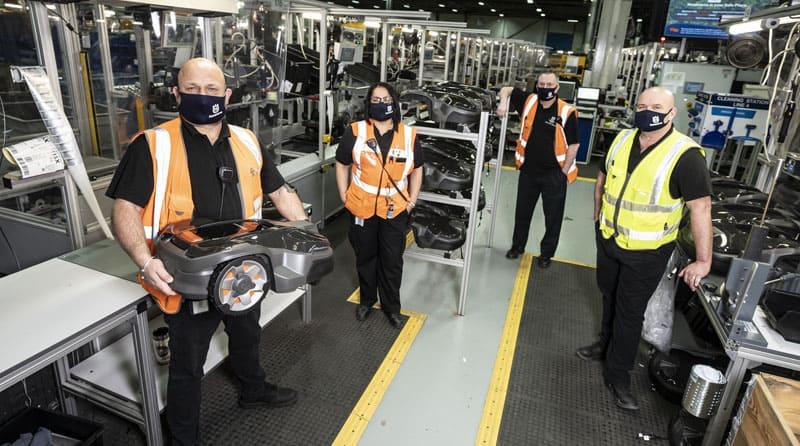 Supervisors manufacture leadership careers at Husqvarna
