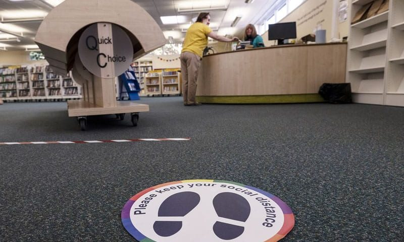 Residents in County Durham will be able to visit libraries in person when restrictions ease