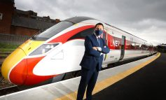 Aycliffe-built Azuma train arrives in Middlesbrough for driver training